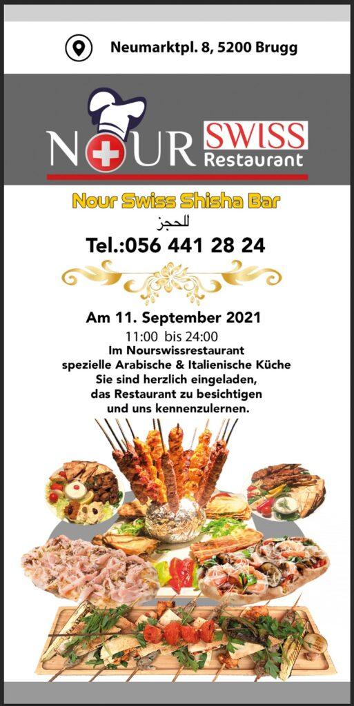Nour Swiss Restaurant Apero 11.9.21